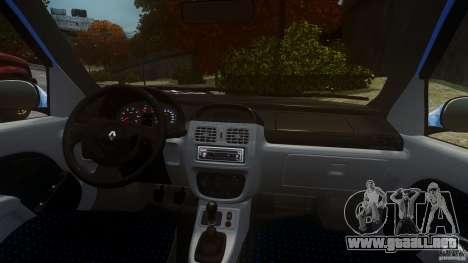 Renault Clio Tuning para GTA 4 visión correcta