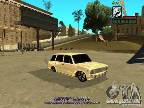 VAZ 2102 oro para GTA San Andreas left