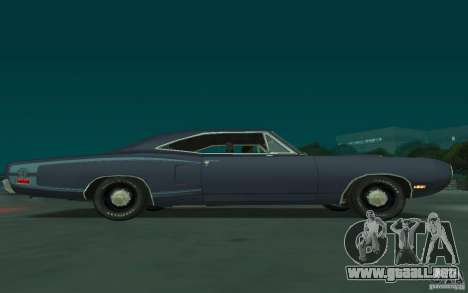 Dodge Coronet Super Bee 1970 para GTA San Andreas vista hacia atrás