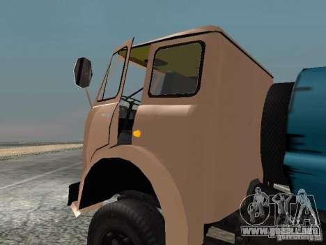 MAZ 503 para GTA San Andreas left