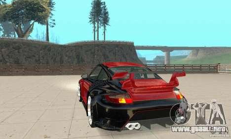 Porsche 911 GT2 NFS Undercover para GTA San Andreas left