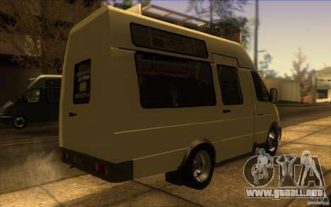 Gacela SPV-16 Rue para GTA San Andreas left