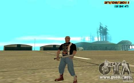 SkinHeads Pack para GTA San Andreas sucesivamente de pantalla