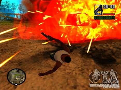 Basura de la explosión para GTA San Andreas
