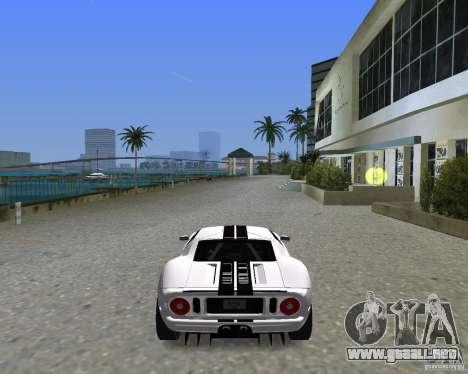 Ford GT para GTA Vice City vista lateral izquierdo
