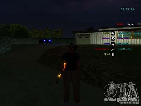 Nuevos skins La Coza Nostry para GTA: SA para GTA San Andreas quinta pantalla