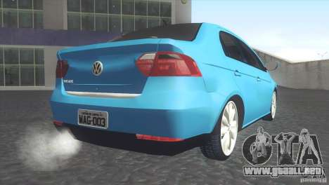 Volkswagen Voyage G6 2013 para GTA San Andreas left