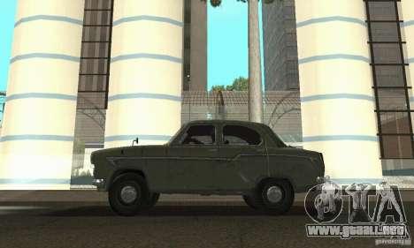 Moskvitch 407 1958 para la visión correcta GTA San Andreas