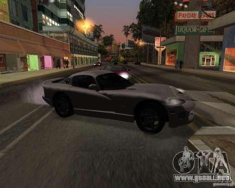 Dodge Viper para la visión correcta GTA San Andreas