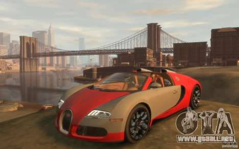 2009 Bugatti Veyron Grand Sport [EPM] para GTA 4