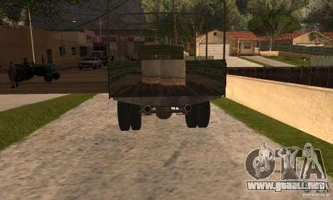 ZiS-5 para GTA San Andreas left