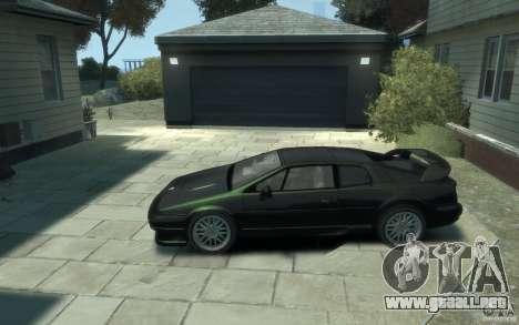 Lotus Esprit V8 para GTA 4 left