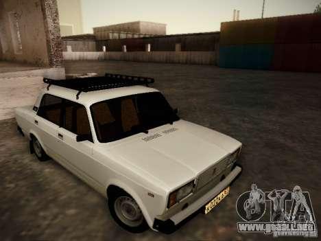 VAZ 2107 v2 para GTA San Andreas