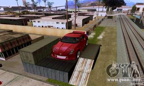 Nissan 370Z para vista inferior GTA San Andreas