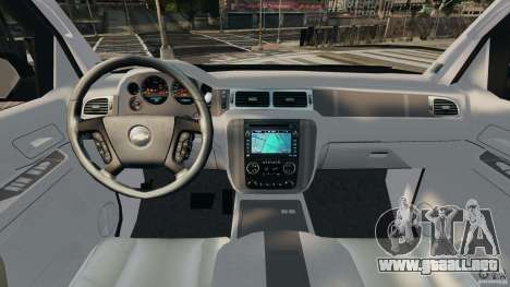 Chevrolet Avalanche 2007 [ELS] para GTA 4 vista hacia atrás