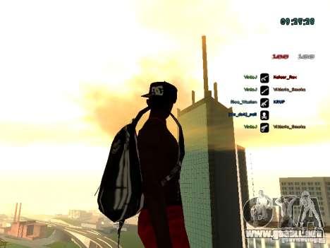 Mochila-paracaídas para GTA: SA para GTA San Andreas tercera pantalla