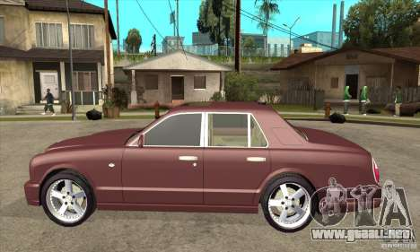 Bentley Arnage GT para GTA San Andreas left