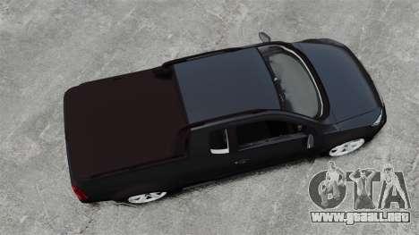 Volkswagen Saveiro Cross Edit para GTA 4 visión correcta