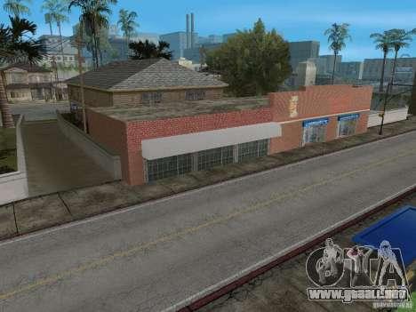 Nuevo Groove Street para GTA San Andreas quinta pantalla