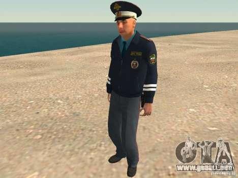 Mayor DPS para GTA San Andreas novena de pantalla