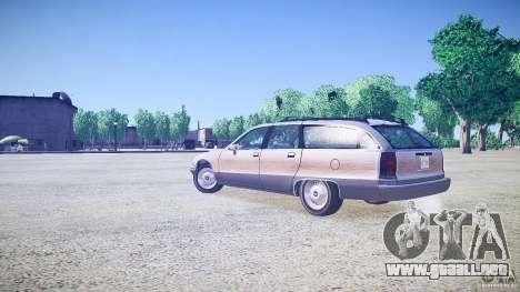 Chevrolet Caprice Civil 1992 v1.0 para GTA 4 left