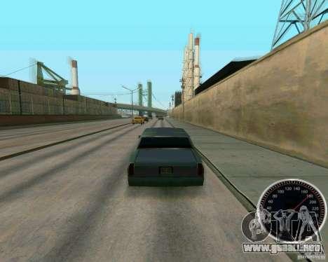 Velocímetro para GTA San Andreas tercera pantalla
