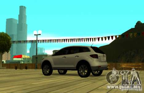 Mazda CX7 para GTA San Andreas left