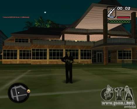 Sniper para GTA San Andreas tercera pantalla