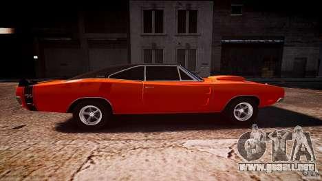 Deportivo Dodge cargador RT 1969 tun v1.1 para GTA 4 vista interior