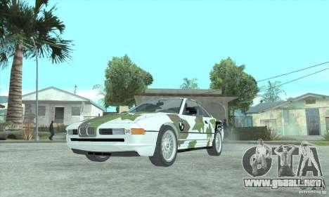 BMW 850i para visión interna GTA San Andreas
