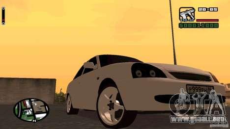 Lada Priora Tuning para GTA San Andreas left