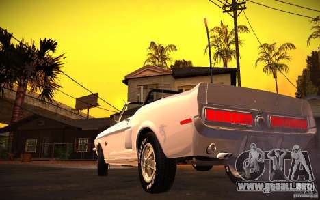ENBSeries v1.0 por GAZelist para GTA San Andreas tercera pantalla