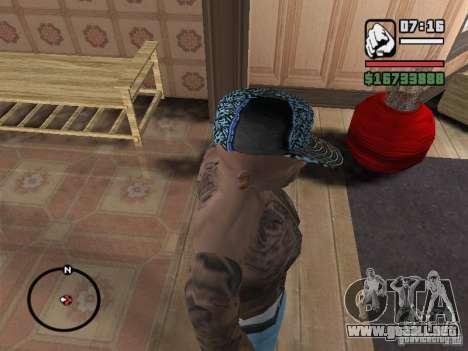 Nueva York Cap para GTA San Andreas tercera pantalla