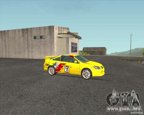 Chevrolet Cobalt SS para visión interna GTA San Andreas