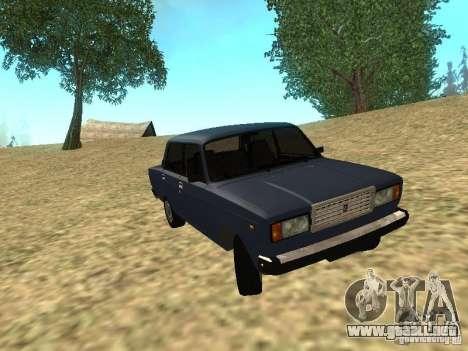 VAZ 2107 v1.1 para GTA San Andreas