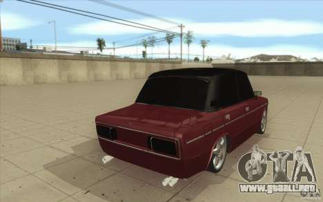 Lada 2106 Vaz para vista lateral GTA San Andreas