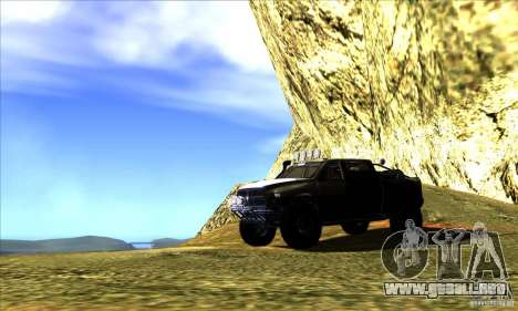 Dodge Ram All Terrain Carryer para la vista superior GTA San Andreas