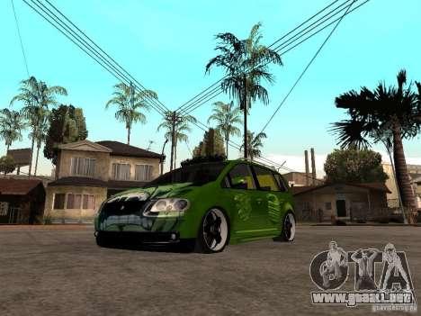 Volkswagen Touran The Hulk para GTA San Andreas