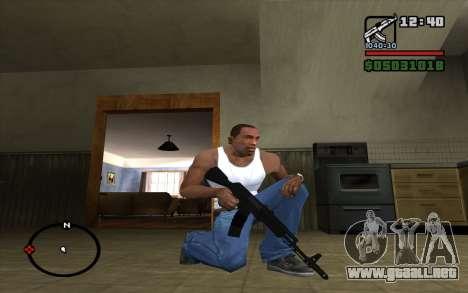 El AK-74 m para GTA San Andreas segunda pantalla