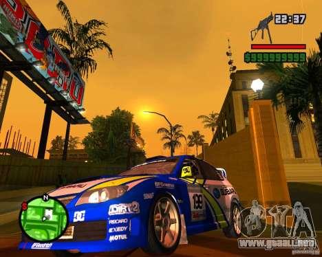 DiRT 2 Subaru Impreza WRX STi para GTA San Andreas left