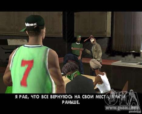 Jason Voorhees para GTA San Andreas séptima pantalla