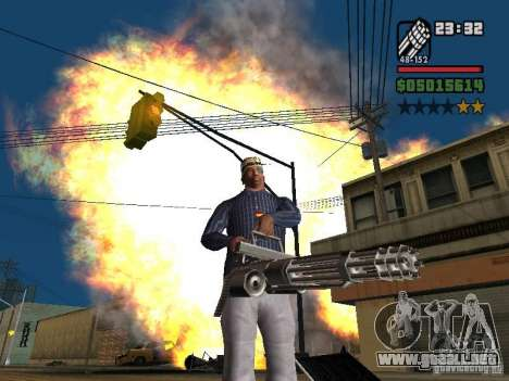 New Realistic Effects para GTA San Andreas