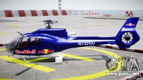 Eurocopter EC130 B4 Red Bull para GTA 4 left