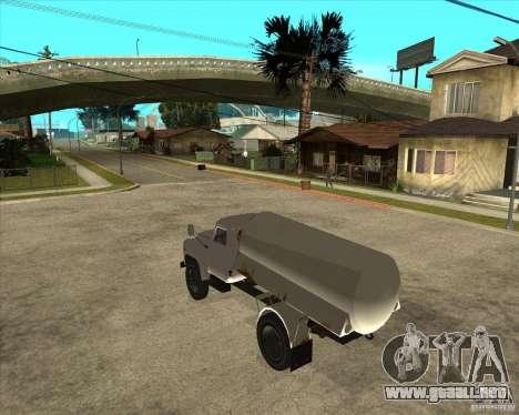 Camión de combustible Gaz-52 para GTA San Andreas left