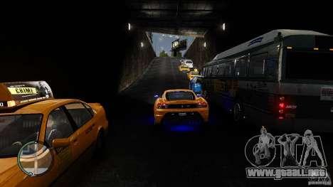 Traffic Load [Final] para GTA 4 tercera pantalla