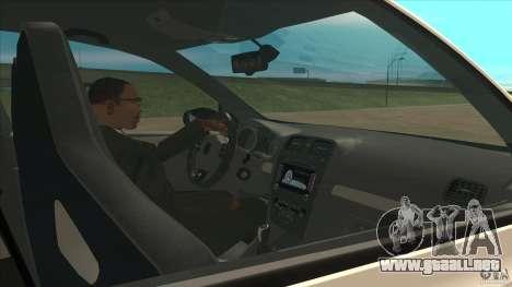 Volkswagen Golf MK6 Hybrid GTI JDM para visión interna GTA San Andreas