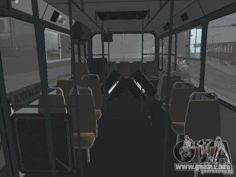 Trailer de Liaz 6212 para visión interna GTA San Andreas