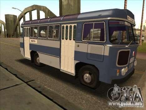 PAZ 672 para GTA San Andreas left