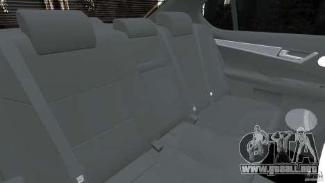 Lexus GS350 2013 v1.0 para GTA 4 vista lateral