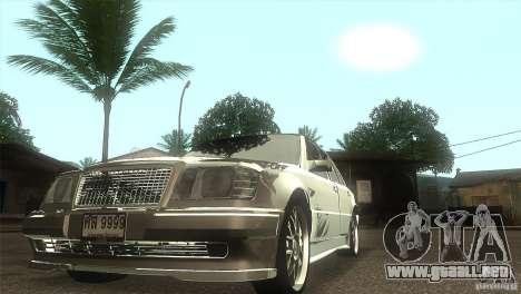 Mercedes-Benz E500 VIP Class para GTA San Andreas vista hacia atrás